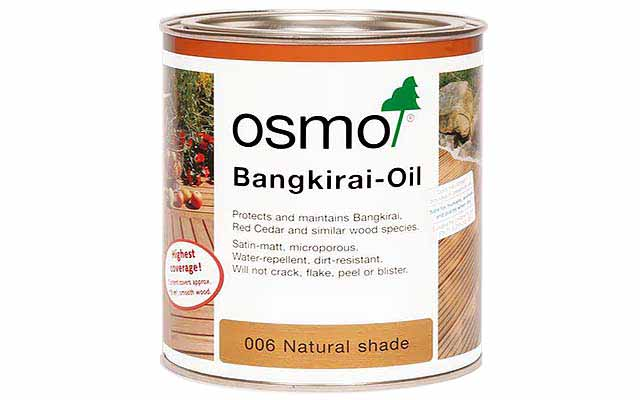 Osmo Decking Oil 2.5 Litre 6