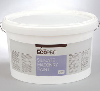 Earthborn Ecopro Silicate Masonry Paint colours 10 Litre
