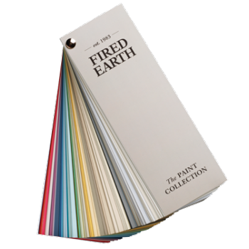 Fired Earth Paint Collection Swatch Book