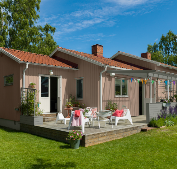 Beckers Exterior Wood Red Colour Card