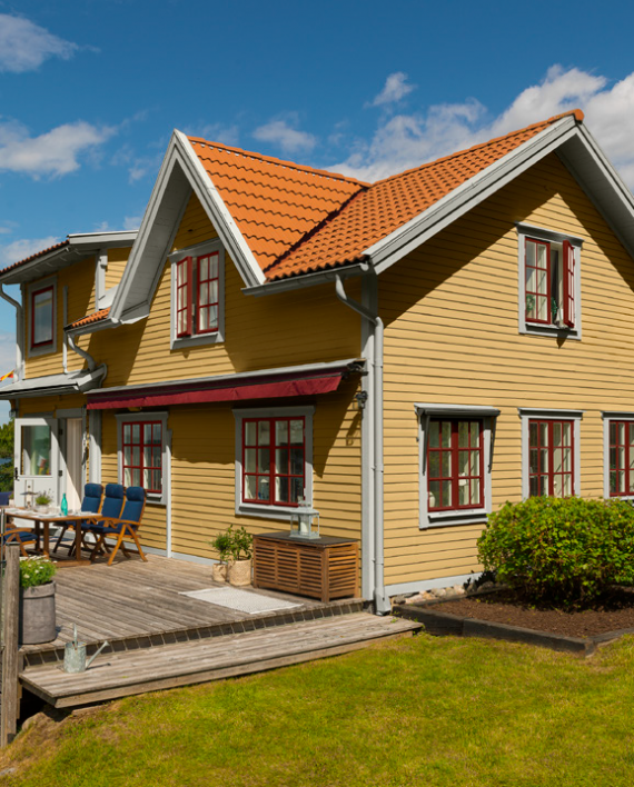Beckers Exterior Wood Yellow Colour Card
