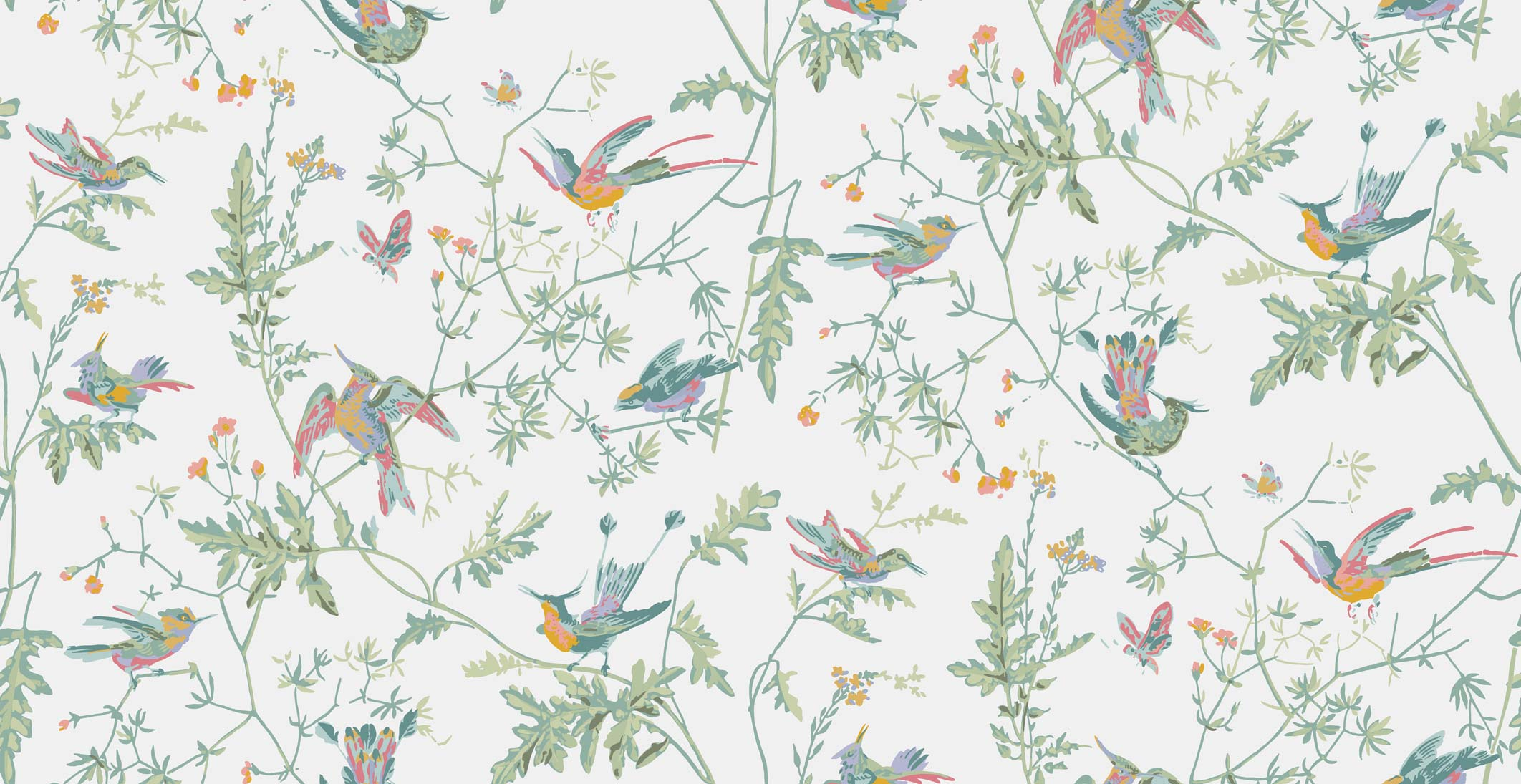 Cole & Son Icons Hummingbirds