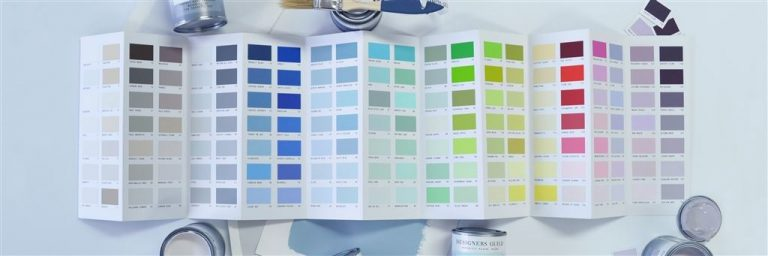 Designers Guild colour card