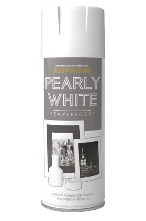 Rust oleum Pearly White Spray Paint