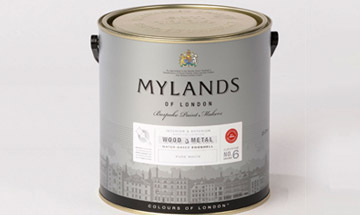 mylands wood & metal eggshell