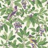 Cole & Son – Historic Royal Palaces – Royal Garden – Green / Purple – 98/1001
