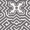 Cole & Son – Historic Royal Palaces – Palace Maze – White/Charcoal – 98/14057