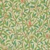 Morris & Co – Archive II – Bird & Pomegranate – Green / Parchment – 212539