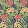 Morris & Co – Archive II – Chrysanthemum – Green / Blue / Red / Cream – 212549