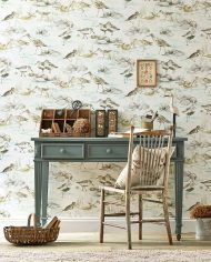 1-wallpaper-grey-blue-brown-fauna-estuary-birds-embleton-bay-sanderson-style-library