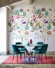 1-wallpaper-panel-floral-purple-emerald-quintessence-zapara-harlequin-style-library (1)