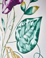 3-wallpaper-panel-floral-purple-emerald-detail-leaf-quintessence-zapara-harlequin-style-library
