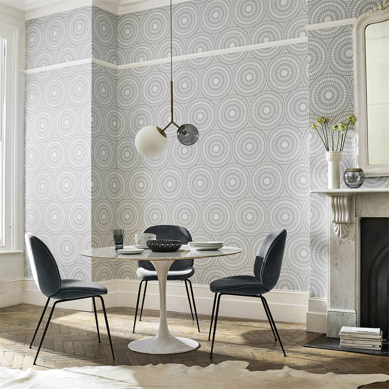 Woodland Effect Dining Room