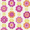 Harlequin – All About Me – Oopsie Daisy – 110546 – Pink/Orange/Lime