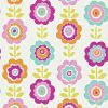 Harlequin – All About Me – Oopsie Daisy – 110547 – Pink /Turquoise/Lime