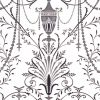 Little Greene – London Wallpapers V – Marlborough – Glace