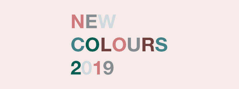Earthborn launch New Colours for 2019!