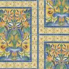 Cole & Son – Seville – Triana – 117/5015 – Marigold & Hyacinth on Canary Yellow