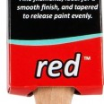 1″ Red Super Smooth Brush