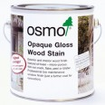 Osmo Opaque Gloss Woodstain White 2.5 Litre