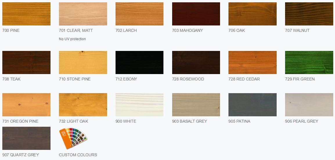 Osmo natural oil woodstain 750ml paint paper ltd - Exterior wood paint colours uk concept ...