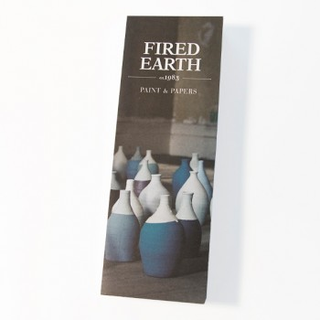 Fired Earth Colour Card