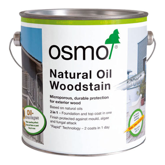 Osmo Natural Oil Woodstain 750ml Paint Paper Ltd