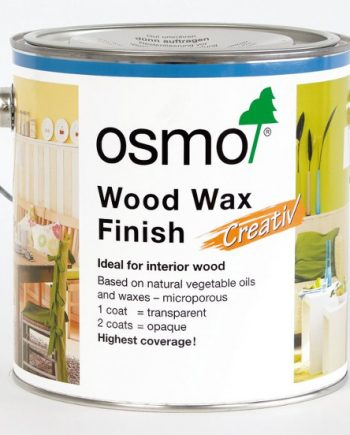 Osmo Wood Wax Finish Transparent 2.5 Litre 4