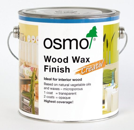 Osmo Wood Wax Finish Transparent 2.5 Litre 1