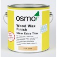 Osmo Wood Wax Finish Clear Extra Thin 2.5 Litre
