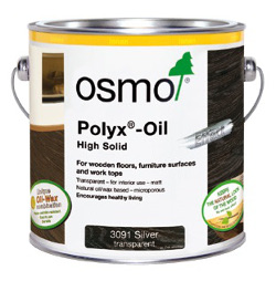 Osmo Polyx Oil Effect Silver and Gold